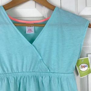 Circo Swim Cover Up Dress Aqua Blue Medium (7/8)